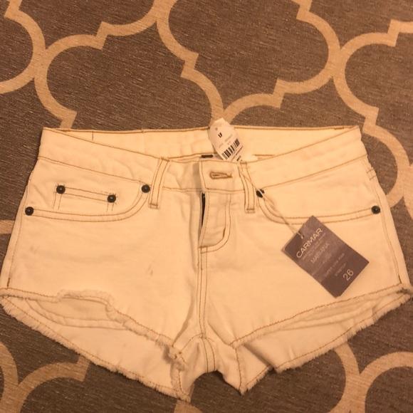 Carmar Pants - Carmar white shorts 26 $158